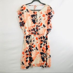 The limited floral sheer camisole dress